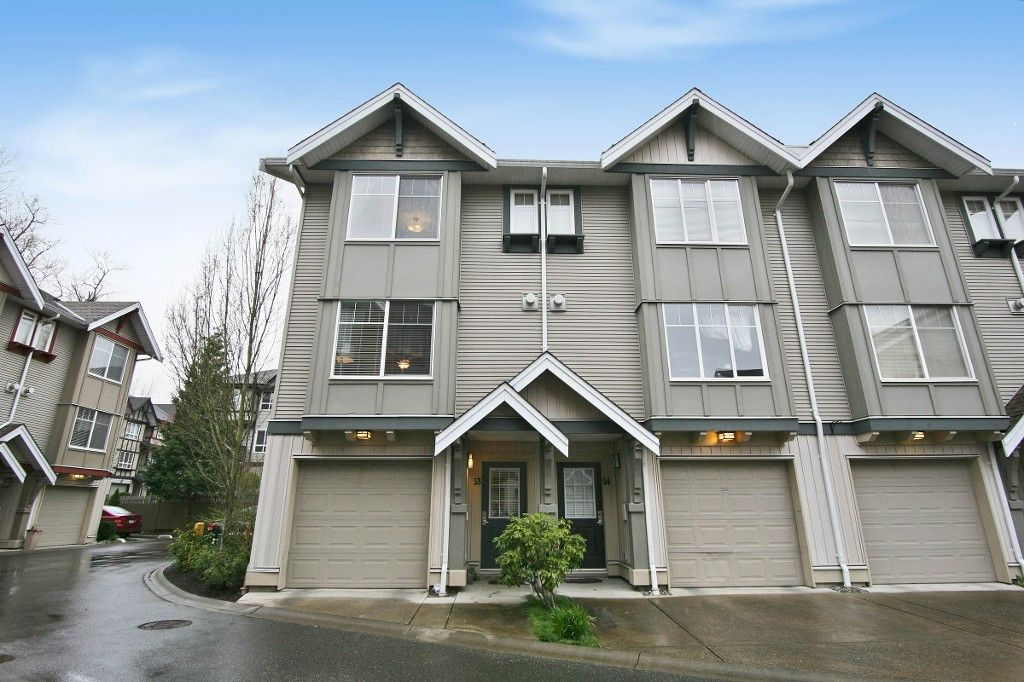 "Main Photo: 53 6651 203 Street in Langley: Willoughby Heights Townhouse for sale in ""SUNSCAPE"" : MLS®# R2049263"