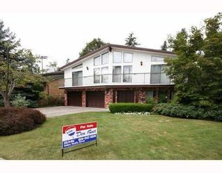 Main Photo: 820 SIGNAL CT in Coquitlam: House for sale : MLS®# V786806