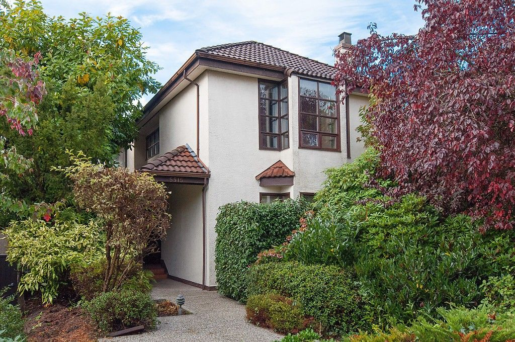 Main Photo: 5515 TRAFALGAR Street in Vancouver: Kerrisdale House for sale (Vancouver West)  : MLS®# V1092618