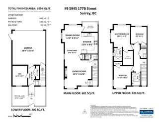 """Photo 23: 9 5945 177B Street in Surrey: Cloverdale BC Townhouse for sale in """"THE CLOVER"""" (Cloverdale)  : MLS®# R2624605"""