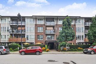 "Photo 1: 210 23215 BILLY BROWN Road in Langley: Fort Langley Condo for sale in ""Waterfront at Bedford Landing - 45+"" : MLS®# R2395039"