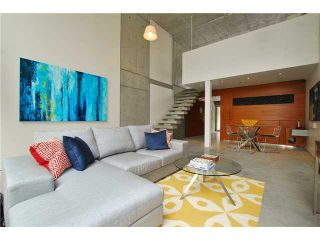"""Photo 1: 203 1540 W 2ND Avenue in Vancouver: False Creek Condo for sale in """"WATERFALL BUILDING"""" (Vancouver West)  : MLS®# V954778"""