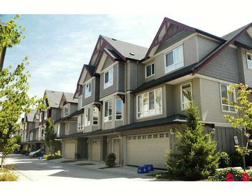 Main Photo: 6 16760 61ST Avenue in Surrey: Cloverdale BC Townhouse for sale (Cloverdale)  : MLS®# F2917499