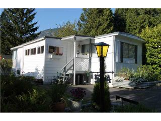 "Photo 1: 54 3295 SUNNYSIDE Road: Anmore Manufactured Home for sale in ""COUNTRYSIDE VILLAGE"" (Port Moody)  : MLS®# V999785"