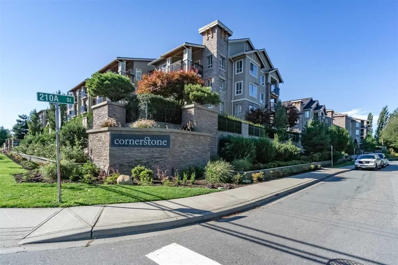 """Main Photo: 415 21009 56 Avenue in Langley: Salmon River Condo for sale in """"CORNERSTONE"""" : MLS®# R2215303"""