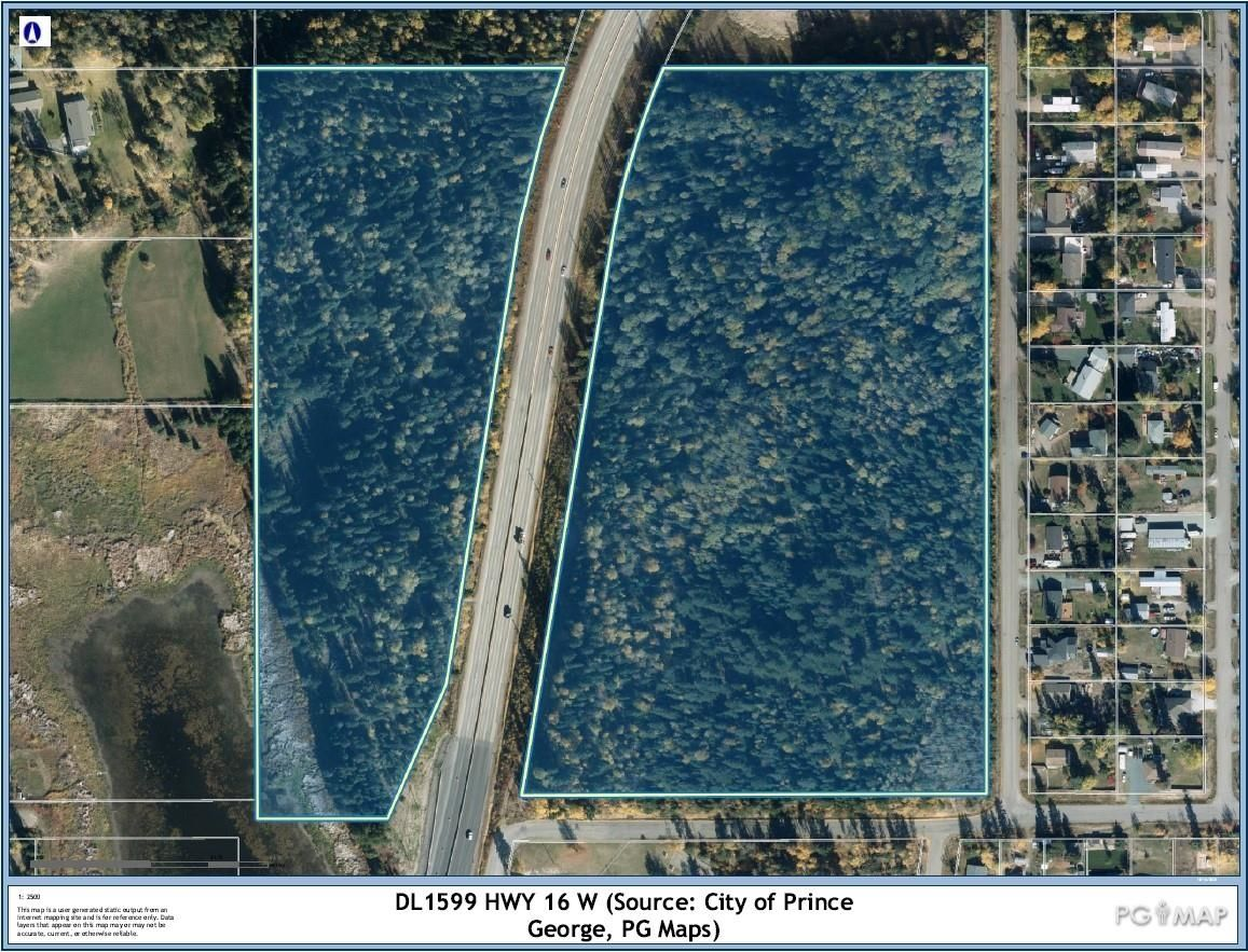 Main Photo: W 16 HIGHWAY in Prince George: Beaverley Land Commercial for sale (PG Rural West (Zone 77))  : MLS®# C8040729