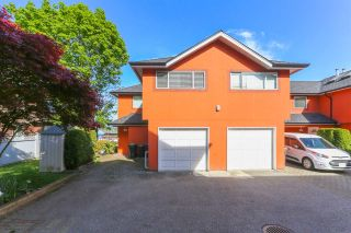 Photo 1: 107 303 CUMBERLAND STREET in New Westminster: Sapperton Townhouse for sale : MLS®# R2060117