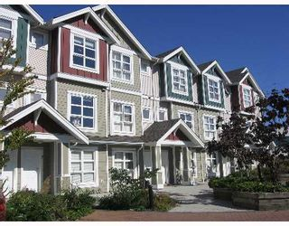 "Photo 1: 13 13028 NO 2 Road in Richmond: Steveston South Townhouse for sale in ""WATERSIDE VILLAGE"" : MLS®# V641783"