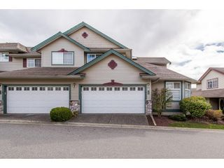 "Photo 1: 50 46360 VALLEYVIEW Road in Sardis: Promontory Townhouse for sale in ""Apple Creek"" : MLS®# R2357020"