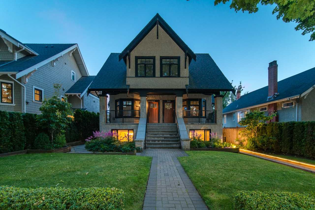 Main Photo: 2438 W 8TH AVENUE in Vancouver: Kitsilano Townhouse for sale (Vancouver West)  : MLS®# R2405957