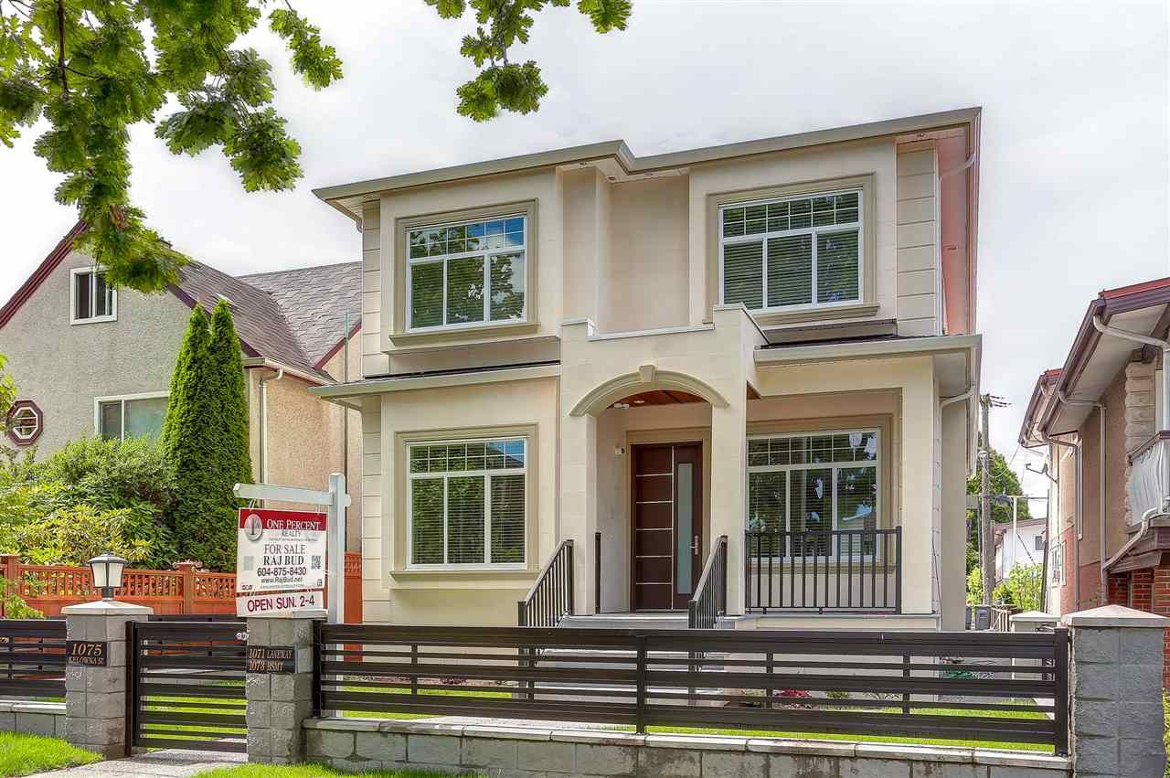 Main Photo: 1075 KELOWNA Street in Vancouver: Renfrew VE House for sale (Vancouver East)  : MLS®# R2096873