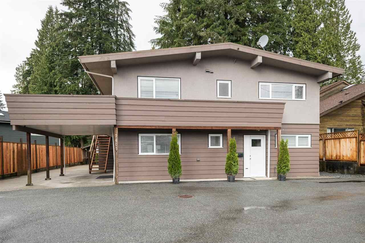 Main Photo: 2403 WILLIAM Avenue in North Vancouver: Lynn Valley House for sale : MLS®# R2258999