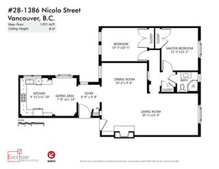 "Photo 20: 28 1386 NICOLA Street in Vancouver: West End VW Condo for sale in ""KENSINGTON PLACE"" (Vancouver West)  : MLS®# R2039878"