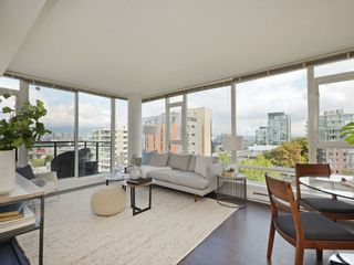 "Photo 5: 906 1650 W 7TH Avenue in Vancouver: Fairview VW Condo for sale in ""Virtu"" (Vancouver West)  : MLS®# R2307388"