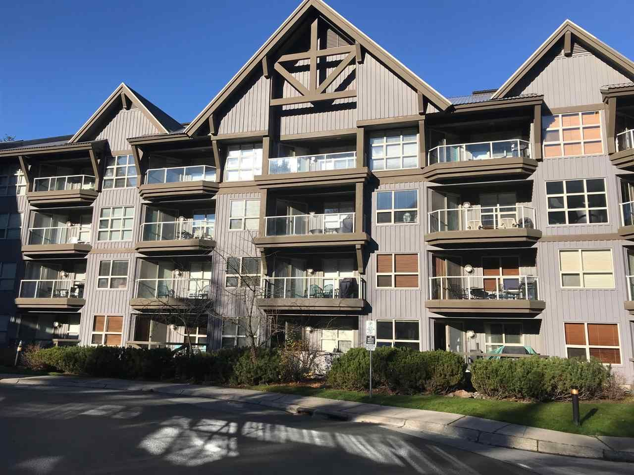 """Main Photo: 422 4800 SPEARHEAD Drive in Whistler: Benchlands Condo for sale in """"ASPENS"""" : MLS®# R2556566"""