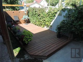 Photo 20: 549 Rathgar Avenue in Winnipeg: Fort Rouge Residential for sale (1Aw)  : MLS®# 1824156