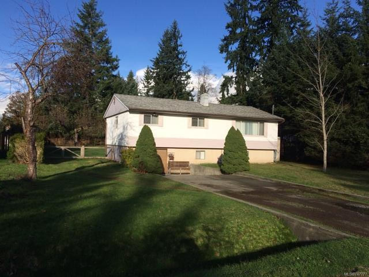Main Photo: 1630 Dolora Rd in CAMPBELL RIVER: CR Campbell River West House for sale (Campbell River)  : MLS®# 747777