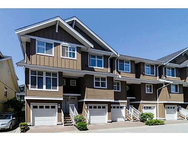 "Main Photo: 38 935 EWEN Avenue in New Westminster: Queensborough Townhouse for sale in ""COOPER'S LANDING"" : MLS®# V1063837"