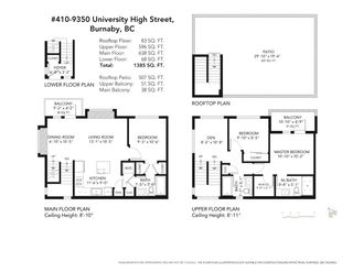 """Photo 30: 410 9350 UNIVERSITY HIGH Street in Burnaby: Simon Fraser Univer. Townhouse for sale in """"Lift"""" (Burnaby North)  : MLS®# R2468337"""
