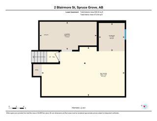 Photo 40: 2 Blairmore Street: Spruce Grove House for sale : MLS®# E4256878