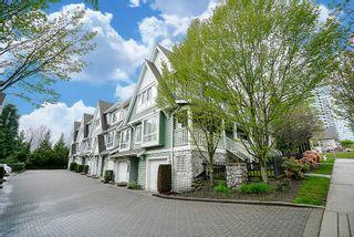 "Photo 1: 7309 HAWTHORNE Terrace in Burnaby: Highgate Townhouse for sale in ""BERKLEY"" (Burnaby South)  : MLS®# R2161141"