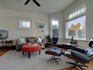 Photo 2: 625 Harbinger Ave in Victoria: Vi Fairfield West Full Duplex for sale : MLS®# 860340