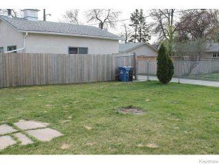 Photo 14: 842 Parkhill Street in Winnipeg: Residential for sale : MLS®# 1611596