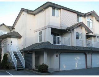 """Photo 1: 14 2538 PITT RIVER Road in Port_Coquitlam: Mary Hill Townhouse for sale in """"RIVER COURT"""" (Port Coquitlam)  : MLS®# V769899"""