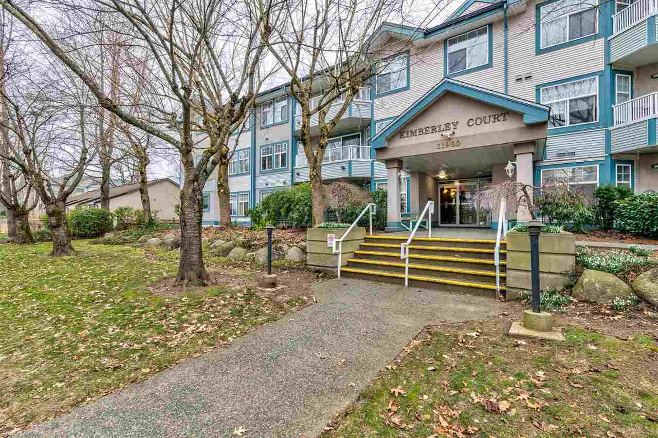 "Main Photo: 208 11960 HARRIS Road in Pitt Meadows: Central Meadows Condo for sale in ""Kimberley Court"" : MLS®# R2538509"