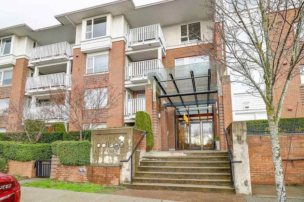 Main Photo: 101 4783 DAWSON STREET - LISTED BY SUTTON CENTRE REALTY in Burnaby: Brentwood Park Condo for sale (Burnaby North)  : MLS®# R2221957