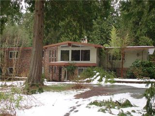 Main Photo: 13262 Woodcrest Dr. in White Rock: Elgin Chantrell House for sale (South Surrey White Rock)  : MLS®# F1419638