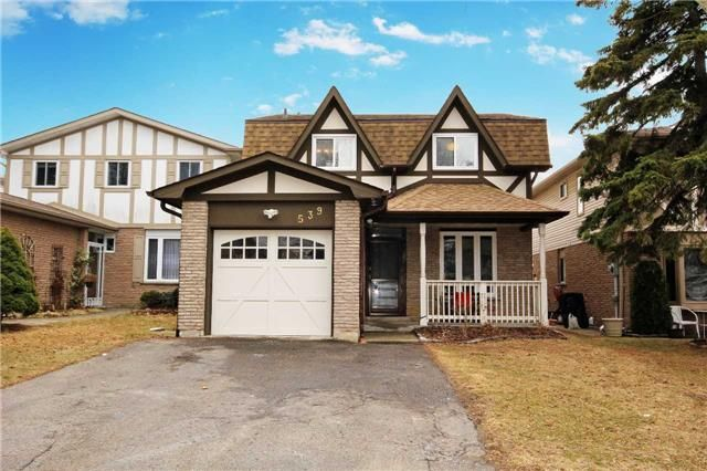 Main Photo: 539 Downland Drive in Pickering: West Shore House (2-Storey) for sale : MLS®# E3435078