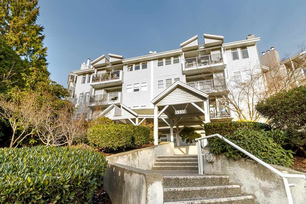 """Main Photo: 313 5335 HASTINGS Street in Burnaby: Capitol Hill BN Condo for sale in """"THE TERRACES"""" (Burnaby North)  : MLS®# R2327030"""