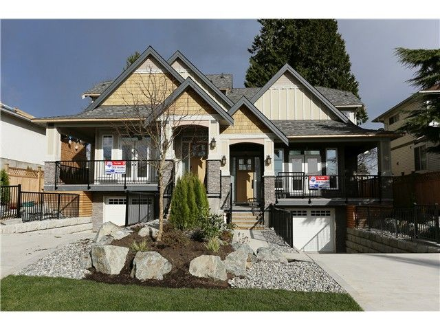 Main Photo: 289 TENBY Street in Coquitlam: Coquitlam West 1/2 Duplex for sale : MLS®# V993619