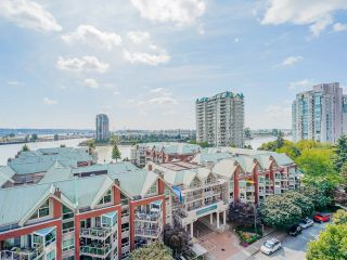 """Photo 1: 1006 1235 QUAYSIDE Drive in New Westminster: Quay Condo for sale in """"RIVIERA TOWER"""" : MLS®# R2612437"""