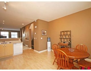 """Photo 6: 33 18828 69TH Avenue in Surrey: Clayton Townhouse for sale in """"STARPOINT"""" (Cloverdale)  : MLS®# F2901097"""