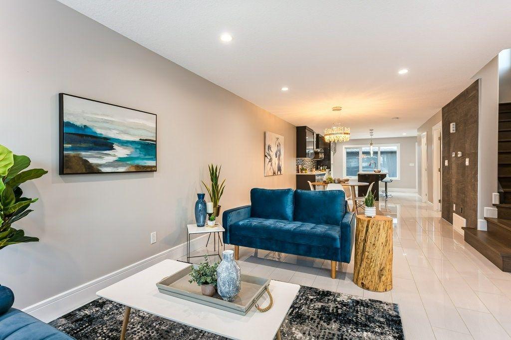 Main Photo: 9329 CONNORS Road in Edmonton: Zone 18 House Half Duplex for sale : MLS®# E4223706