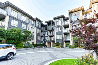 """Photo 1: 111 225 FRANCIS Way in New Westminster: Fraserview NW Condo for sale in """"WHITTAKER"""" : MLS®# R2497580"""