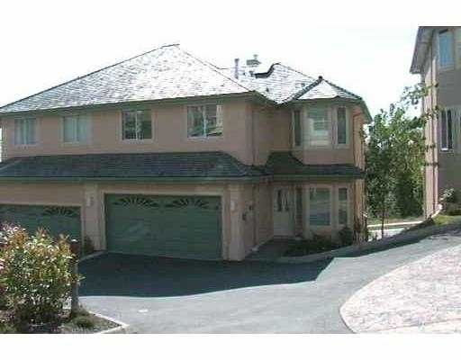 """Main Photo: 43 2951 PANORAMA DR in Coquitlam: Westwood Plateau Townhouse for sale in """"STONEGATE"""" : MLS®# V536721"""