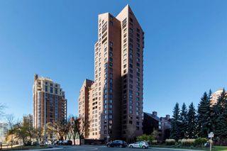 Main Photo: 402D 500 Eau Claire Avenue SW in Calgary: Eau Claire Apartment for sale : MLS®# A1153914