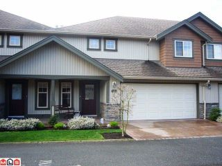 """Photo 1: # 33 6887 SHEFFIELD WY in Sardis: Sardis East Vedder Rd Townhouse for sale in """"PARKSFIELD"""" : MLS®# H1203764"""