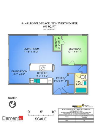 Photo 14: 8 48 LEOPOLD Place in New Westminster: Downtown NW Condo for sale : MLS®# R2497704