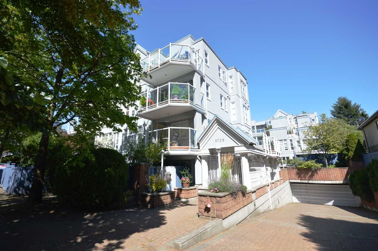 """Main Photo: 306 8728 SW MARINE Drive in Vancouver: Marpole Condo for sale in """"RIVERVIEW COURT"""" (Vancouver West)  : MLS®# R2291524"""