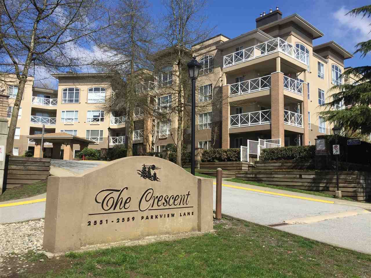 """Main Photo: 216 2559 PARKVIEW Lane in Port Coquitlam: Central Pt Coquitlam Condo for sale in """"THE CRESCENT"""" : MLS®# R2156465"""