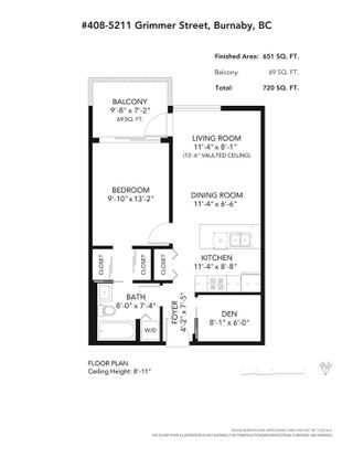 """Photo 23: 408 5211 GRIMMER Street in Burnaby: Metrotown Condo for sale in """"OAKTERRA"""" (Burnaby South)  : MLS®# R2542693"""