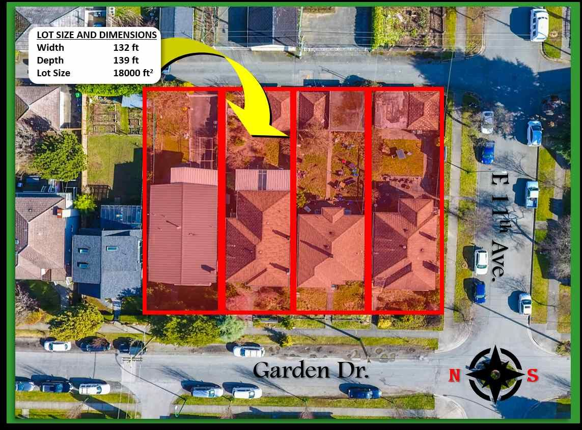 Main Photo: 2660 GARDEN Drive in Vancouver: Grandview Woodland Land for sale (Vancouver East)  : MLS®# R2557898