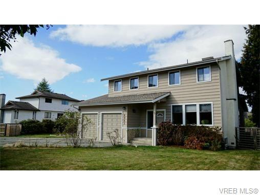 Main Photo: 4041 Cavallin Crt in VICTORIA: SE Lambrick Park House for sale (Saanich East)  : MLS®# 742178