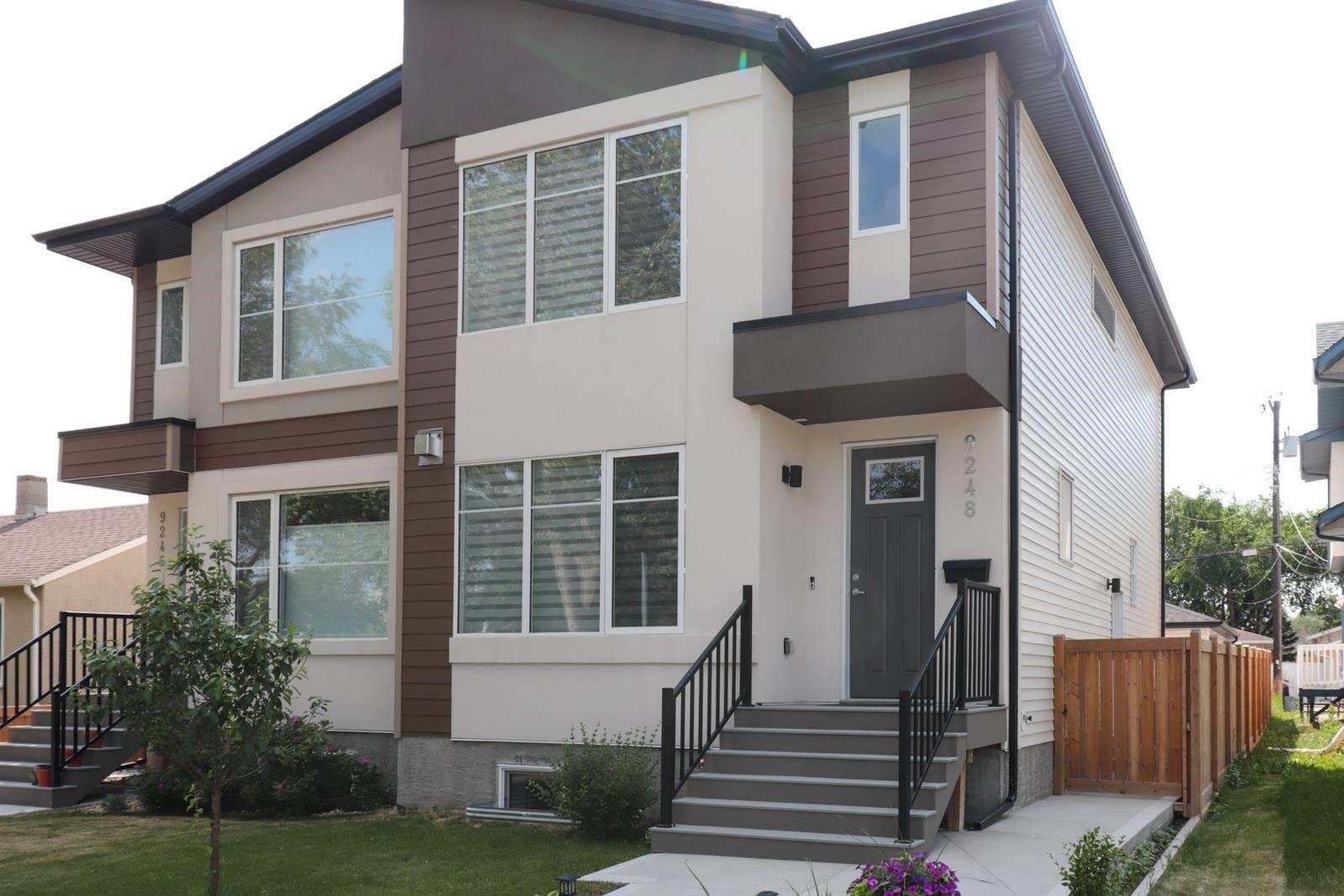 Main Photo: 9248 90 Street in Edmonton: Zone 18 House Half Duplex for sale : MLS®# E4252934
