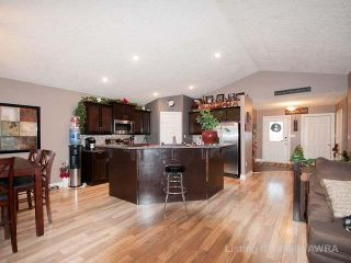 Photo 2: 5 Bedroom Bungalow on the Pond in Hillendale, Edson, AB