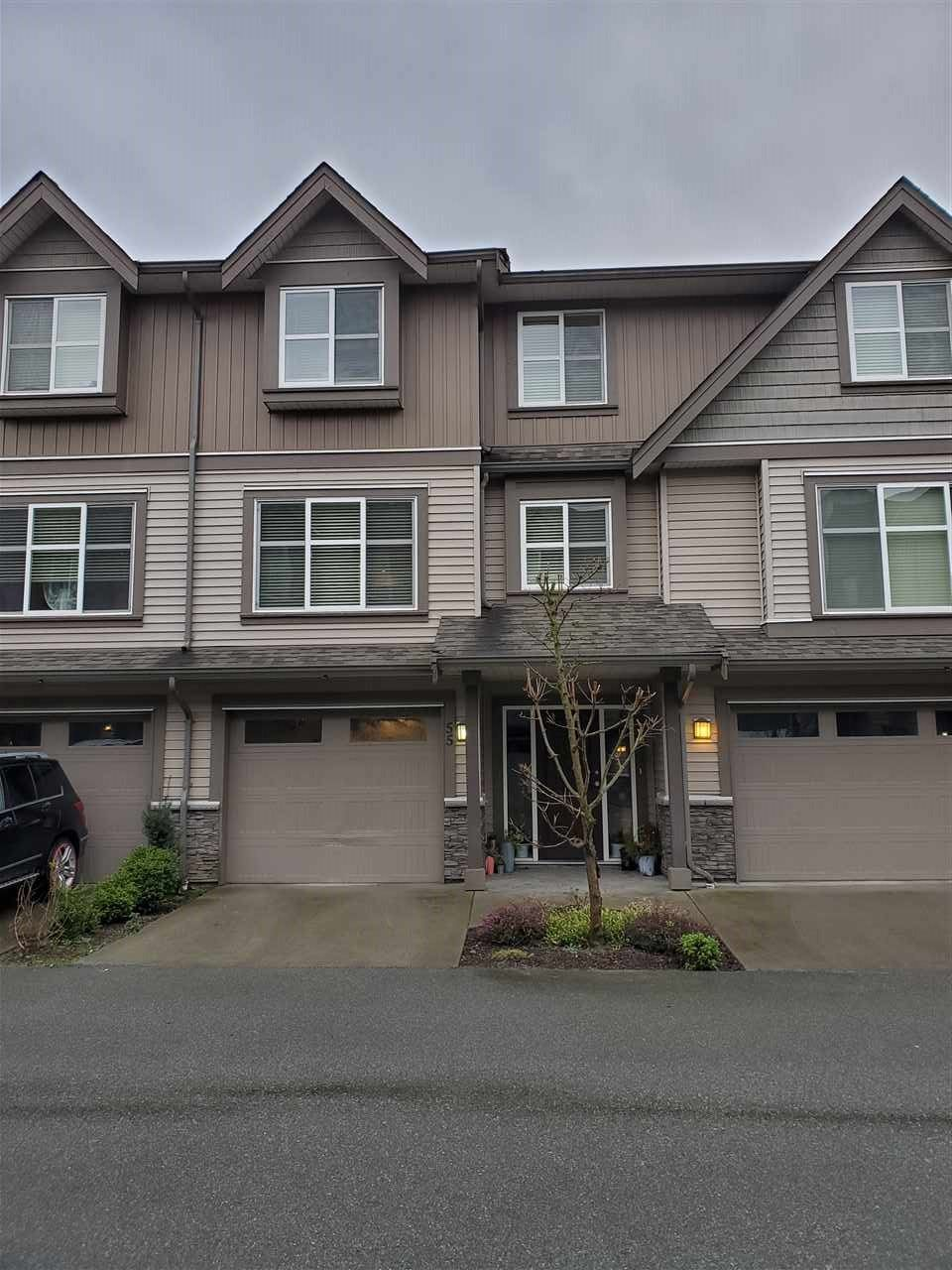 "Main Photo: 55 45085 WOLFE Road in Chilliwack: Chilliwack W Young-Well Townhouse for sale in ""Townsend Terrace"" : MLS®# R2534453"